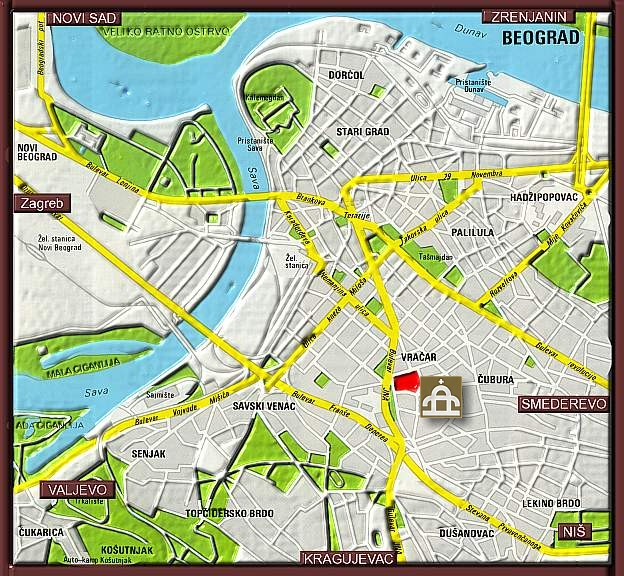 Beograd Crveni Krst Mapa Superjoden